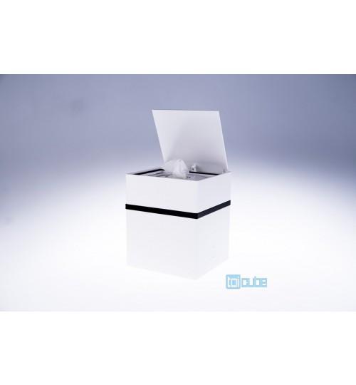 Toicube Kunststoff Weiß-Schwarz