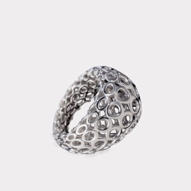 Ring Melissa Silber (by Marinella Tamburo)