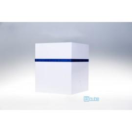 Toicube Kunststoff Weiß-Blau