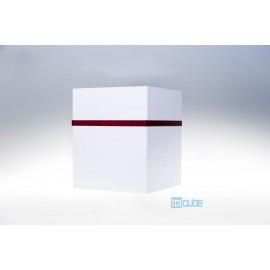 Toicube Kunststoff Weiß-Rot